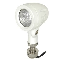 498 Lumen Solid LED Mini Floodlight White - Each