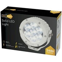 3486 Lumen IP68 Solid LED Spotlight White
