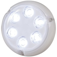 7 x 1W White Surface Mount Underwater LED light 500 Lumens