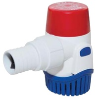 RULE Brand Bilge Pumps - RULE 1100 69 Litres/min MPA122Includes a check valve in the discharge port.