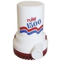RULE Heavy Duty Bilge Pump - 1500 GPH 12V