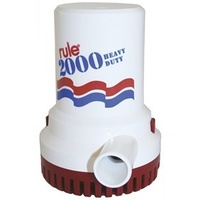 RULE Heavy Duty Bilge Pump - 2000 GPH 12V