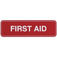 Adhesive First Aid Sign 100x30mm