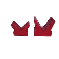 Bow Chocks - Red Base 88mm Wide