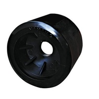 Trailer Rollers - 19mm Black