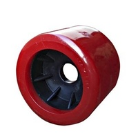 WOBBLE ROLLER 4X4IN RED 20MM