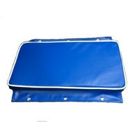 Boat Cushion - 600 x 300mm Royal Blue with Snap Flaps