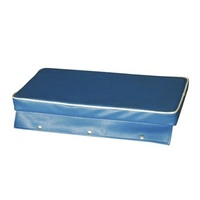 Boat Cushion - 1200 x 300mm Royal Blue with Snap Flaps
