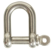 Stainless Steel Shackles - Dia 5mm SWL 250kg - Throat 18mm