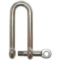 D Shackle - Extra Long - Dia 4mm - Throat 30mm