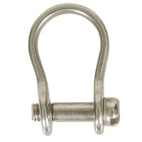 Bow Shackles - 3mm with Slotted Head