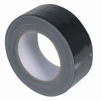Budget 48mm Black Cloth Tape - 25m Roll