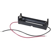 1 X 18650 Battery Holder with 150mm lead