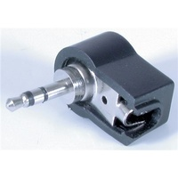 2.5MM Stereo RIGHT ANGLE Plug