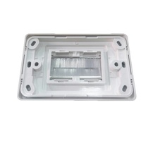 Brushed Rear Cable Entry Wall Plate