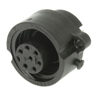 IP67 Rated 6 Pole Chassis Socket