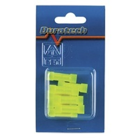 Butt Connector - Yellow - Pk.8