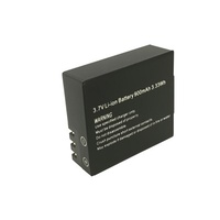 Spare Li-Ion Battery for Sports Cameras