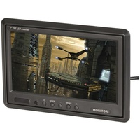 "7"" TFT LCD Widescreen Colour Monitor with IR Remote"