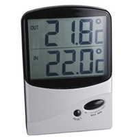 Jumbo Display In/Out Thermometer