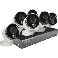 Concord 8 Channel 4K DVR Package - 6x4K Cameras