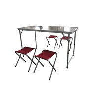 Folding Table With 4 Seats