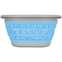 Blue Pop Up Laundry Basket