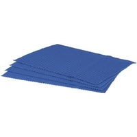 Non-Slip Placemat 4 pack Navy 450x330mm