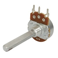 100k Ohm Linear (B) Single Gang 24mm Potentiometer