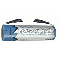 1.2V AA 2000mAH Rechargeable Ni-MH Battery - Tag
