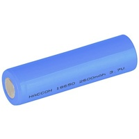 18650 Rechargeable Li-Ion Battery 2600mAh 3.7V
