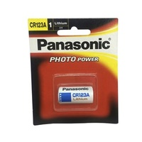 Panasonic CR123A Lithium Camera Battery