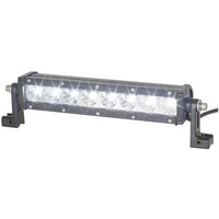 13IN Solid LED Single Row Light Bar, 7200 Lumen, Combination Beam
