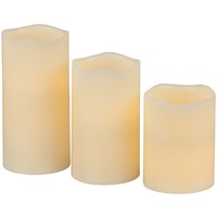 LED Candle Set with Remote Control ST3960The ultimate in mood lighting without the safety hazard of real candles.