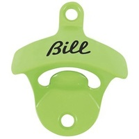 """Bill"" Bottle Opener - Green"
