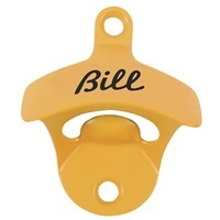 """Bill"" Bottle Opener - Orange"
