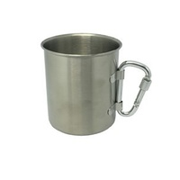 Single Wall Stainless Steel Cup 220ml