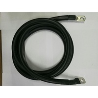 0 Gauge Tinned Battery Power Lead - Black - 2330mm