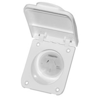 10A 240V Flush Mount Power Outlet