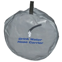 Drinking Water Hose Stow Bag 335mm TFI482When you are travelling in a confined space, say on a boat or caravan/RV, there is nothing more annoying than