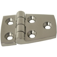 Cast Hinges - Stainless Steel (316 Grade) - 58mm Butt Round Pair