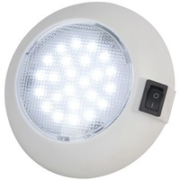 115mm Cool White and RED LED Dome Light