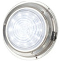 140mm Cool White LED Stainless Steel Dome Light
