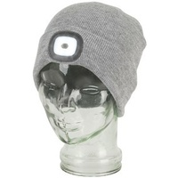 Beanie with rechargeable LED Head Lamp