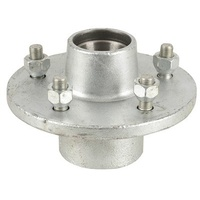 5 1/2Inch Hub Galvanised Suits HT Holden with Bearings, Dust Cover, Marine Seal and Nuts