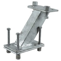Spare Wheel Carrier - Galvanised