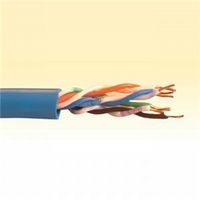 Cat 5e Solid Network Cable - Polywrapped 30M pack. Per Metre