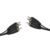 3 x RCA Plugs to 3 x RCA Plugs Cable - 3m