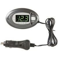 CAR 12V Voltage/Alternator/Temperature LED Display