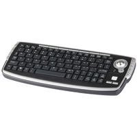 Mini Wireless Keyboard with Trackball